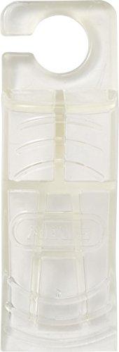 ABUS Türstopper Luca Tür-Keil aus rutschfestem Gummi - Klemmschutz für Kinder und Babys - 1 Stück- transparent - 73137