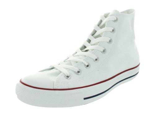 Converse Unisex-Erwachsene Chuck Taylor All Star High Top Sneaker, Weiß, 45 EU
