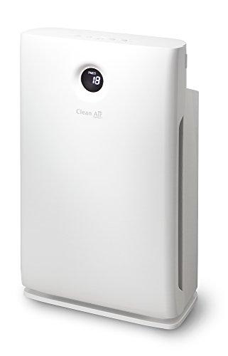 Intelligenter HEPA Ionisator Luftreiniger CA-509D - HEPA H13 - Filtereffizienz 99,97% / 0,3 µm - Digitales Monitoring der Luftqualität - Geeignet für Räumen bis: 90m² / 225m³