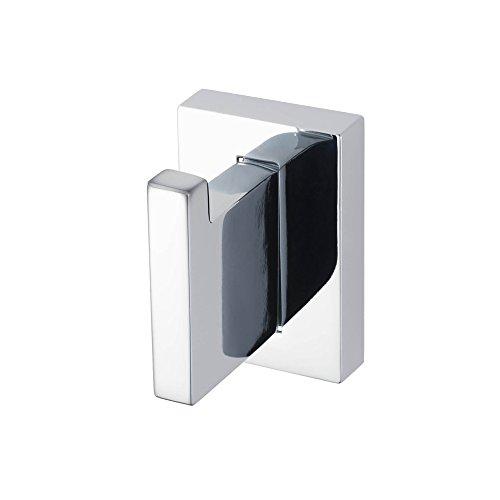 Haceka Edge Chrome Gancho, Acero Inoxidable, Gris, 3.6x4.6x5.4 cm