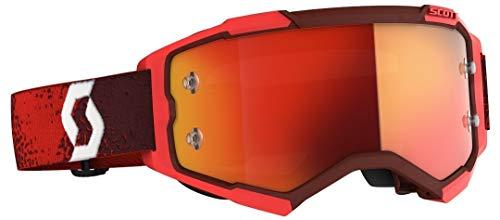 Scott Fury MX Goggle Cross/MTB Brille rot/orange Chrom Works