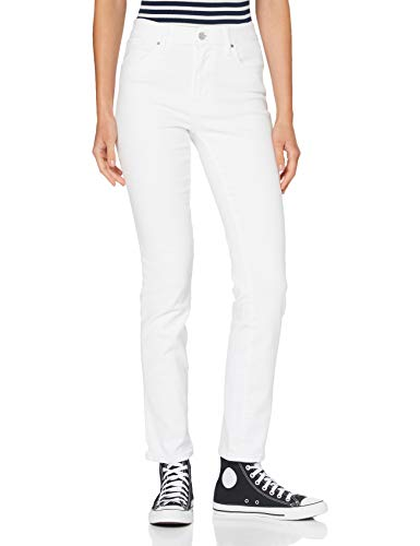 Levi's Damen 724 High Rise Straight Jeans, Western White, 28 30