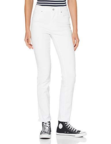 Levi's Damen 724 High Rise Straight Jeans, Western White, 32
