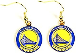 Final Touch Gifts Golden State Warriors Logo Earrings Pierced