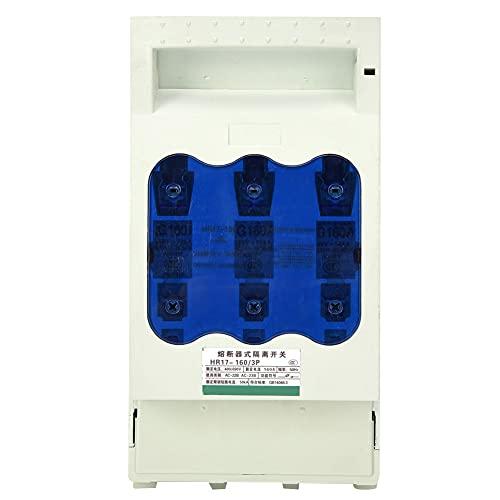 Interruptor de aislamiento, interruptor de aislamiento de tipo fusible resistente a la corrosión, conveniente simple para el circuito de distribución del circuito del motor(All brass)