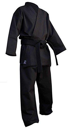 DOUBLE Y Deluxe - Kimono de kárate, color negro negro negro Talla:190