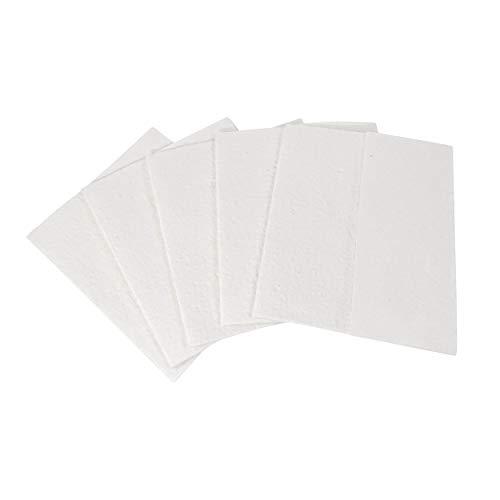 Nanoprotect Spezialtücher | Für Clean Gloss Edelstahlreiniger & Edelstahlpflege | Keine öligen Rückstände | Extrem sparsam | 5 Stück im Set