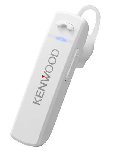 KENWOOD KH-M300-W 片耳ヘッドセット Bluetooth対応 連続通話時間 約23時間 左右両耳対応 テレワーク・テレビ会議向け ホワイト
