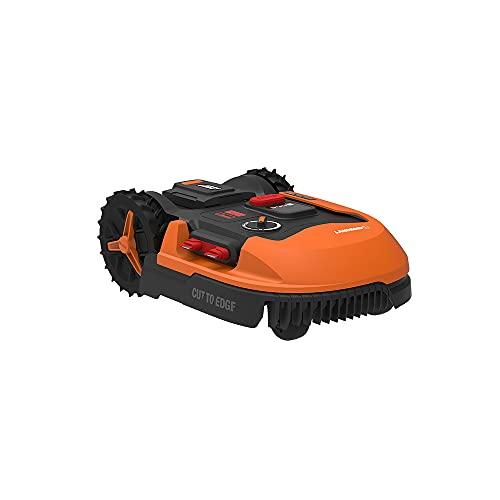 WORX Landroid PLUS WR147E.1 Mähroboter für Gärten bis 1000 qm mit WLAN, Bluetooth und schwimmendem Mähdeck
