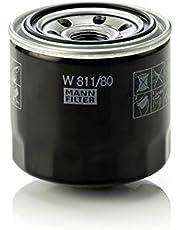 Original MANN-FILTER Filtro de aceite W 811/80 – Para automóviles y vehículos de utilidad