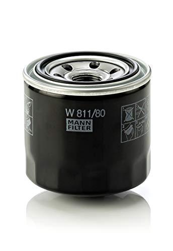 MANN-FILTER W811/80 Originale Filtro Olio,per Automobili e Veicoli Commerciali