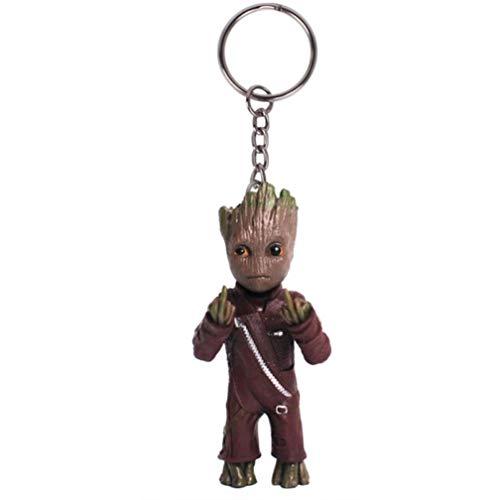 Les Gardiens de la Galaxie Vol.2 Baby Groot Porte-clés Figure Poupée Jouet Mignon