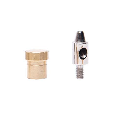GETMORE Parts Lochwerkzeug, Locheisen, Lochpfeife für Ösenpresse, Spindelpresse - zum stanzen und lochen - 5,0 mm