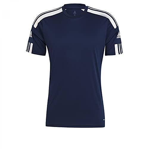 adidas GN5724 Squad 21 JSY SS T-Shirt Uomo Team Navy Blue/White S