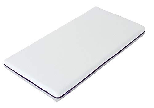 Clevamama 3117 Cool Gel Babybett Matratze 60 x 120 cm, Weiß