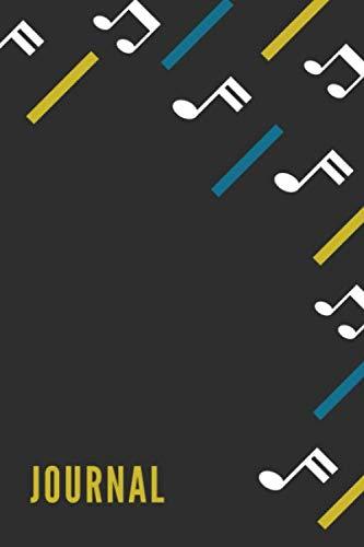 Journal: A5  6x9  Guitar Tabs Sign |  Organizer  |  Journal | Music | Academic Planner Music