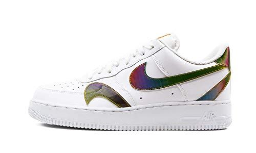 Nike Air Force 1 '07 LV8 2, Zapatillas de bsquetbol Hombre, White Multi Color White, 40 EU