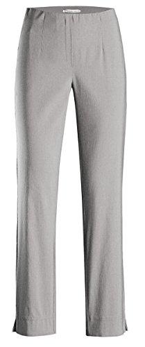 Stehmann INA-740, Bequeme,stretchige Damenhose-Bitte mindestens 1 Nummer Kleiner bestellen, silber, 44