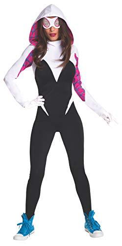 Rubie's 820057-M Women's Marvel Universe Spider-Gwen Costume, Medium, Multicolor