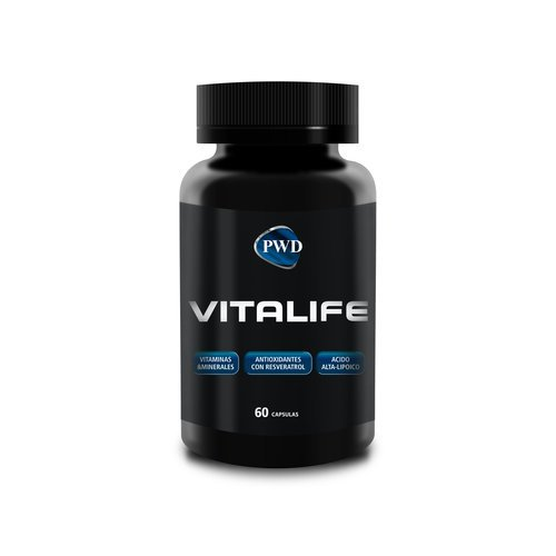 Vitalife 60 cápsulas de Pwd