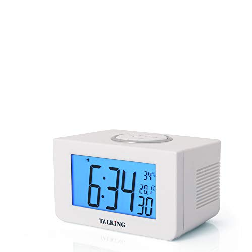 D-Mail Sveglia Digitale parlante con termometro