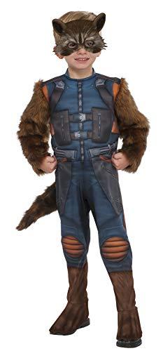 Deluxe Toddler Rocket Raccoon Fancy dress costume...