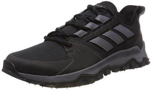 adidas Herren Kanadia Trail F36056 Laufschuhe, Schwarz (Black), 44 2/3 EU