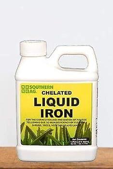 Southern Ag 01952 Chelated Liquid Iron 16oz-1 Pint