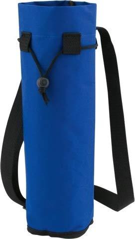Unbekannt Flaschenkühler/Flaschentasche mit Gurt für Flaschen bis Grösse 1.5l Polyester blau