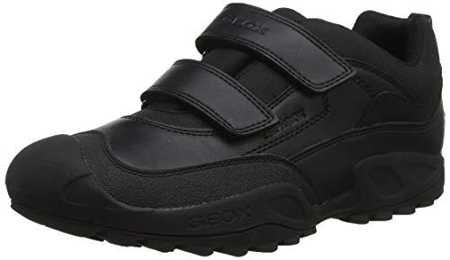 Geox J New Savage Boy B A, Zapatillas Niños, Negro (Black C9999), 28 EU