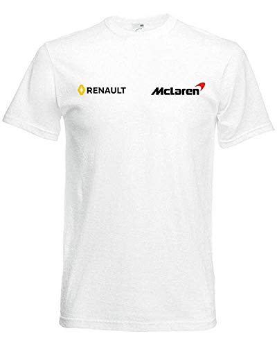 JNT New Mclaren Renault F1 Team T-Shirt tee Alonso Fans Racing Driver...