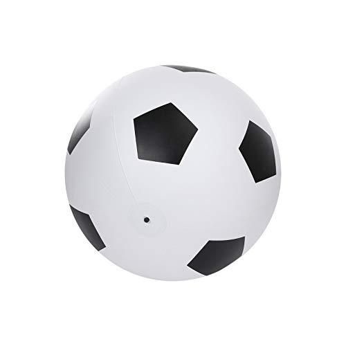 Pelota de agua gigante hinchable, pelota de fútbol de 76,2 cm, resistente y de playa, juguete para niños y adultos, pelota de playa al aire libre, jardín