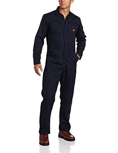 Dickies Men's Basic Blended Coverall, Dark Navy, 2XL Regular