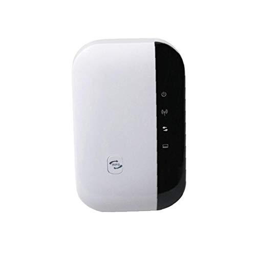 TOPofly WiFi Range Extender Repeater Repetidor Amplificador inalámbrico a 300 Mbps WiFi Range Extender Booster 360 ° Completa Cobertura de la señal para la pequeña al Vapor