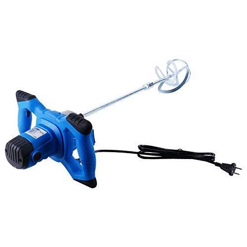 Paddle Mixer Drill - AC 220V 800W Handheld Tool, nauwkeurig mengen gemakkelijk in gebruik, ergonomische bouw, for het mengen van Gips/Verf/Mortel/Lijm/Adhesive 8bayfa (Color : Blue)