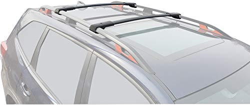 BRIGHTLINES Aero Roof Rack Cross Bars Luggage Rack Replacement for 2019 2020 2021 Subaru Forester (2019-2021 Subaru Forester)