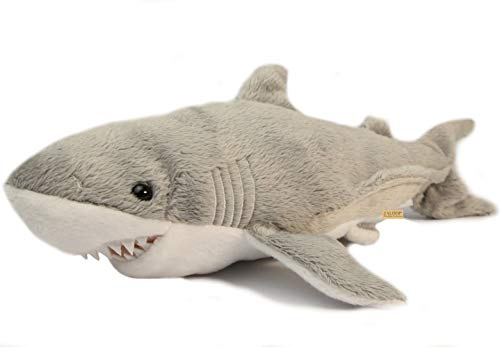 Zaloop Weisser Hai Plüschtier Kuscheltier Stofftier Plüschhai Plüsch Haifisch 137