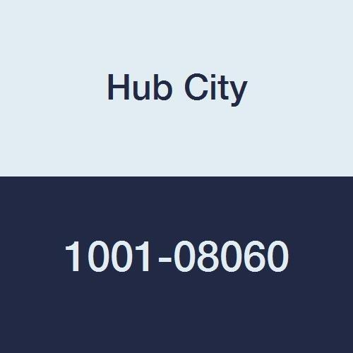 "Hub City IndustriaLine 1001-08060 TPB220X1-3/8 Pillow Block Bearing, 1.38"" ID, 2"" Height, 5"" Length, 5"" Width, Metal"