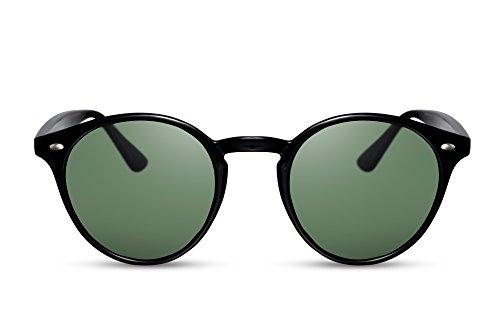 Cheapass Sunglasses Redondas Retro Festival Trendy 100% Protección UV400 Hombres Mujeres