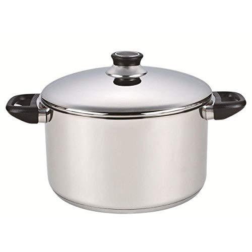 Table&cook - 0114086 - Faitout inox 20cm + couvercle