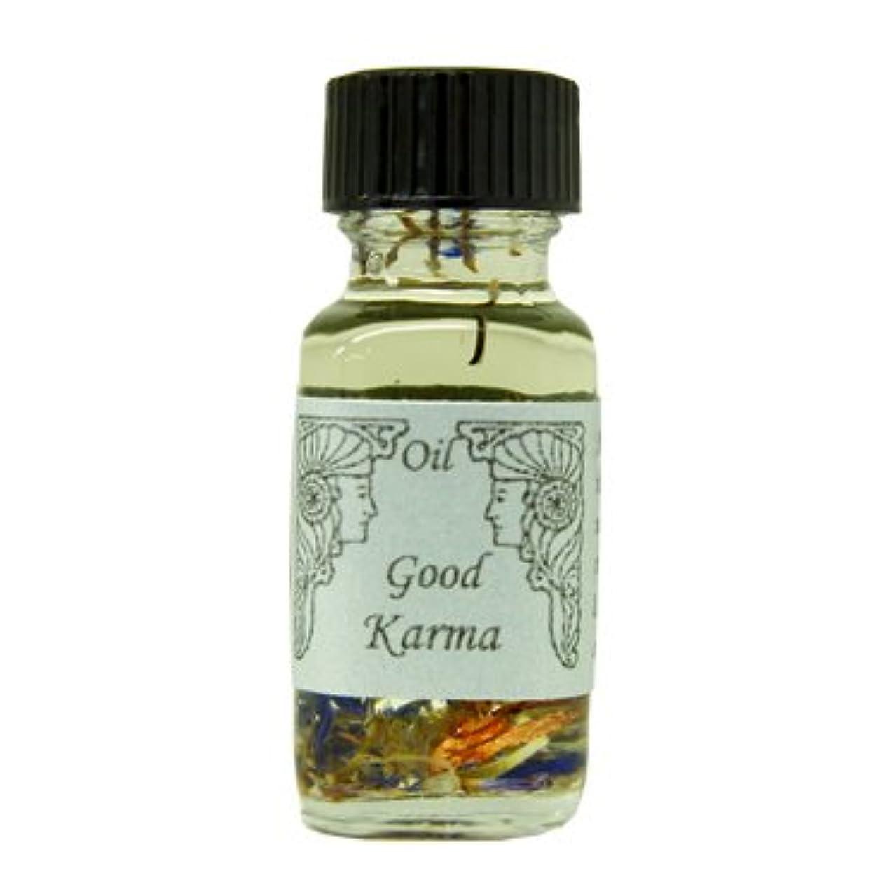 兄弟愛そこから浪費アンシェントメモリーオイル グッドカルマ (よいカルマを呼ぶ) 15ml (Ancient Memory Oils)
