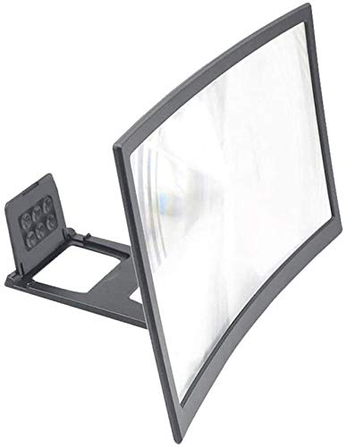 "Magnifying Magnifying Glass 12"" HD Stend Enlarged Screen Mobile Phone Projection Phone Cinema Amplificatore schermo lupa para celular Magnifier Amplifier SLZFLSSHPK"