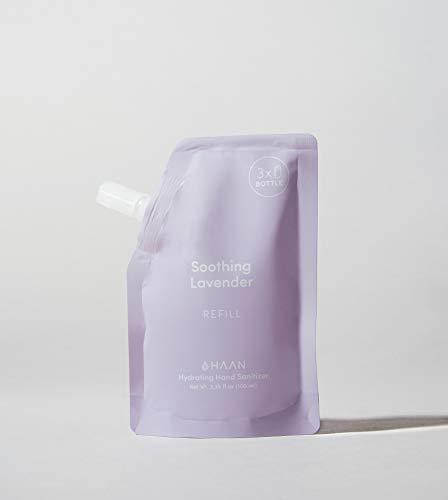 HAAN Desinfectante de Manos | BOLSA DE RECARGA para Dispensador HAAN | 100 ml | Desinfectante Hidratante con Aloe Vera | Antiséptico | Lavender