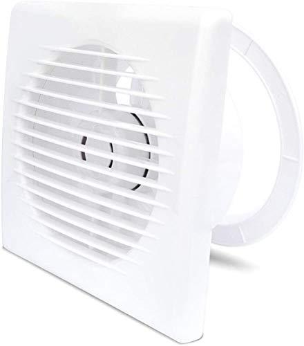 GJX Ventilador Axial Ventilation Extractor Ensayos de Escape Ventilación de bajo Ruido Ventilador Extractor Hogar Ventilador Ventilador, 6 Pulgadas para baño de baño