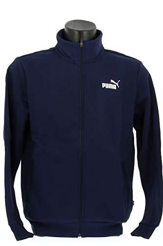 PUMA Clean Sweat Suit Trainingsanzug, Herren, Blau, M
