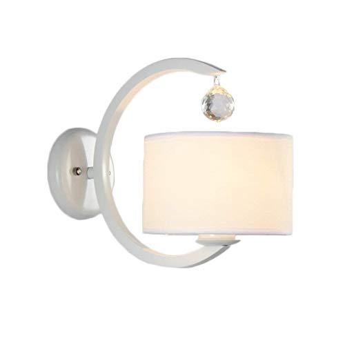 HJ-DENG Lettura del LED braccio dell'oscillazione Lampada da parete Lampada da parete a cristallo moderno della lampada da parete lampadario in stile Camera da letto Corridoio Soggiorno Simple Warm Co