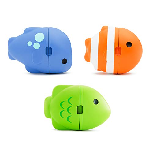 Munchkin ColorMix Fish, Color Changing Bath Toy