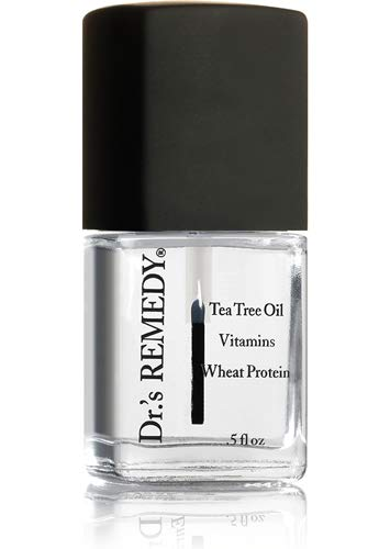 Dr.'s Remedy Enriched Nail Polish, Basic Basecoat, 0.5 Fluid Ounce