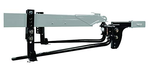 Reese 49911 Round Bar Weight Distribution Kit with Integrated Sway, 6,000 lbs. (GTW), 600 lbs. (TW)