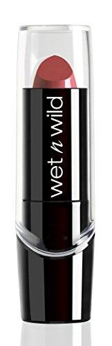 Wet n Wild – Silk Finish Lipstick: Pflegender Lippenstift mit Aloe Vera und Vitamine A und E, Blushing Bali, 1 Stk. 3,6g